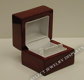 "Rosewood Earring Display Gift Box 1-7/8"" H"