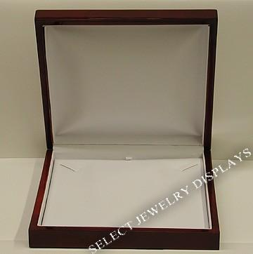 "Rosewood Necklace Display Gift Box 1-3/4"" H"