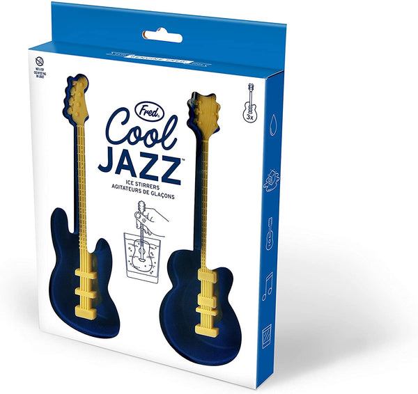Ice Tray Stirrers Cool Jazz Guitar