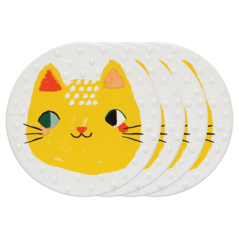 Coaster Meow Meow -Set of 4