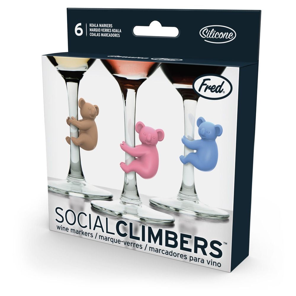 Wine Markers Social Climbers