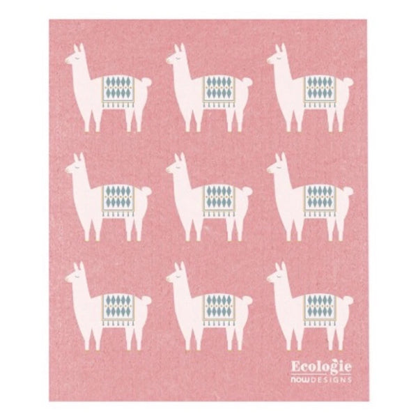 Swedish Dishcloth Lupe Llama -Set of 2