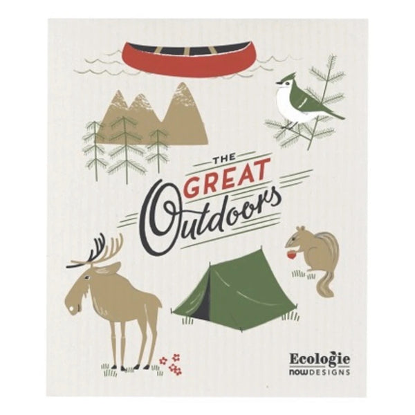 Swedish Dishcloth The Great Outdoor -Set of 2