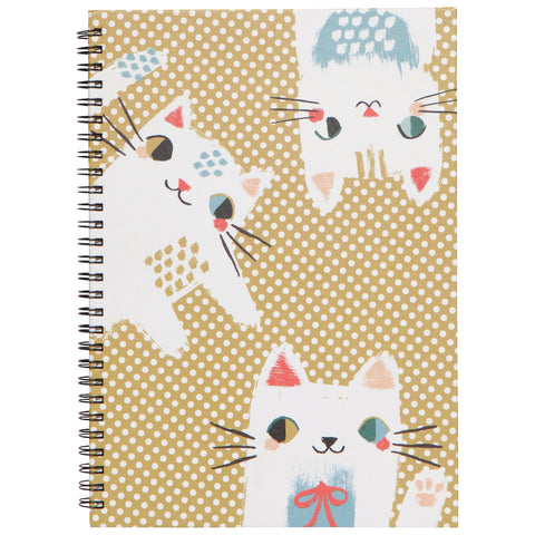 Ring Bound Notebook Meow Meow