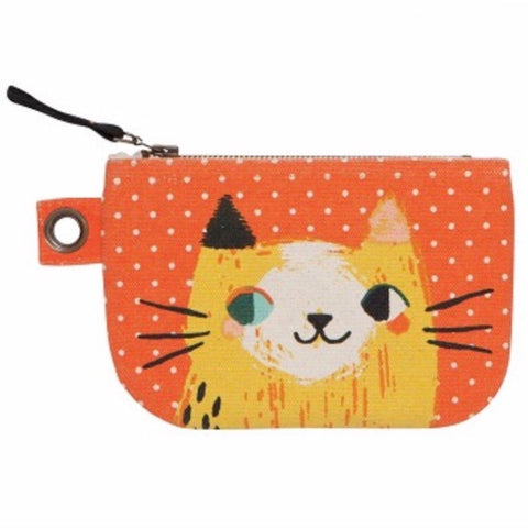 Zip Pouch Small Meow Meow