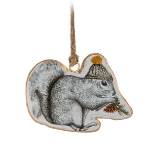 Ornament Squirrel in Hat
