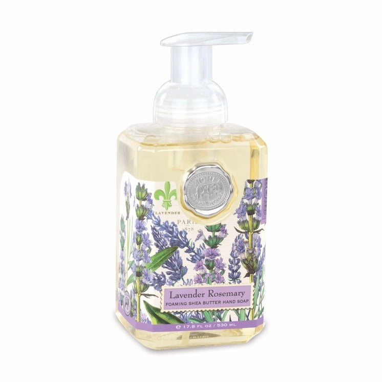 Foaming Shea Butter Hand Soap Lavender Rosemary
