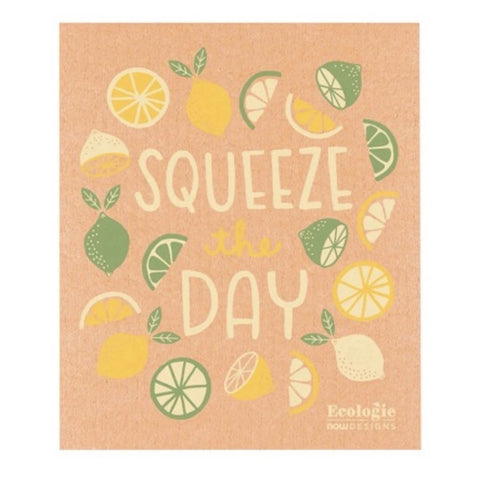Swedish Dishcloth Squeeze The Day -Set of 2