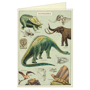 Greeting Card Dinosaurs