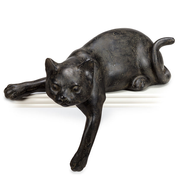 Decoration Medium Lounging Cat with Paw Out