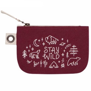 Zip Pouch Small Stay Wild