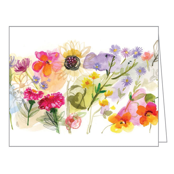 Boxed Notecards Watercolor  Meadow