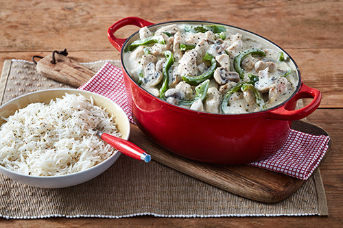 Chicken A La King with basmati - 300g