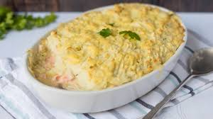 Fish Pie with Potato Mash or Sweet Potato - 300 g