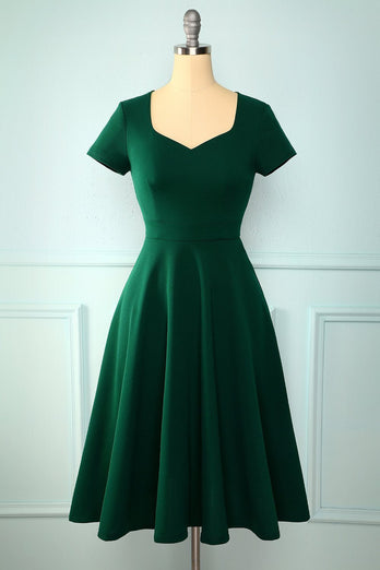 Green Plus Storlek Party Dress