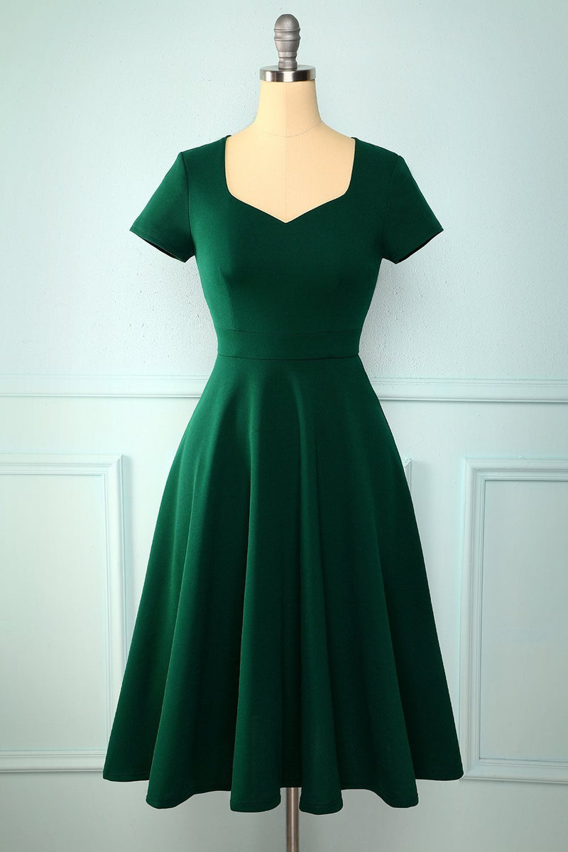 Load image into Gallery viewer, Green Plus Storlek Party Dress