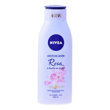 Olie i Lotion Rose og Argan Nivea (400 ml)