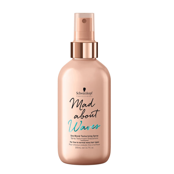 Spray til Volumen Mad About Waves Schwarzkopf (200 ml)