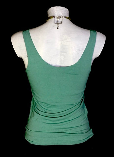 "Top ""Mia"" verde acqua soft"