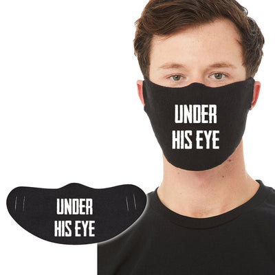 Cotton Face Mask 1P - Under His Eye - DonkeyTees