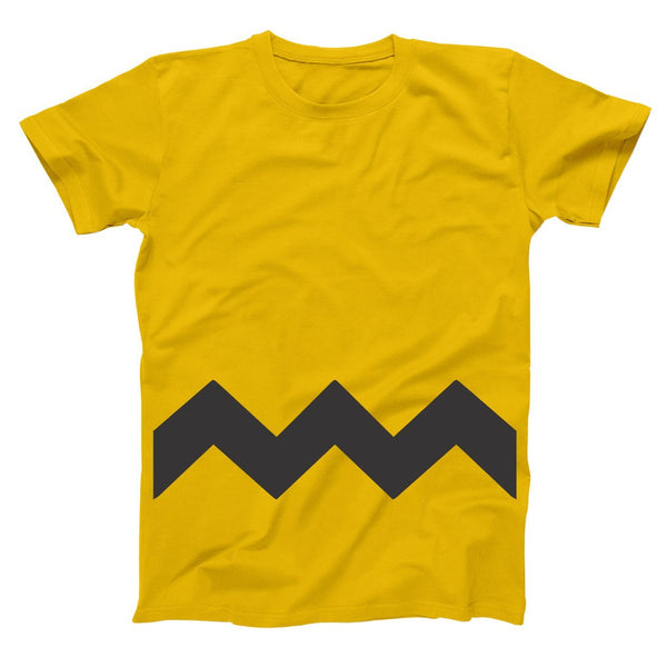 Charlie Brown Adult Men's T-Shirt - Donkey Tees