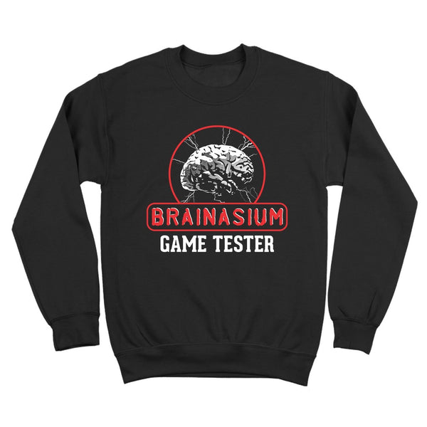 Brainasium Game Tester Crewneck Sweatshirt