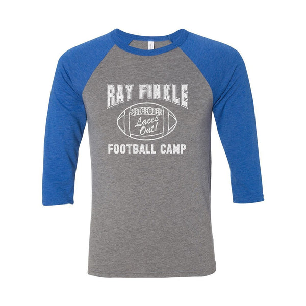 Ray Finkle Football Camp Laces Out Unisex Raglan - Donkey Tees