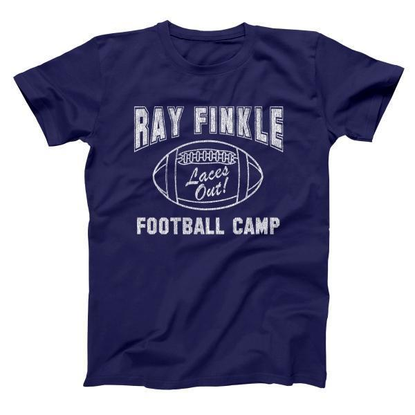 Ray Finkle Football Camp Laces Out Men's Tall T-Shirt - Donkey Tees