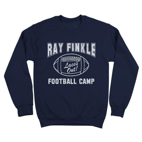 Ray Finkle Football Camp Laces Out Crewneck Sweatshirt