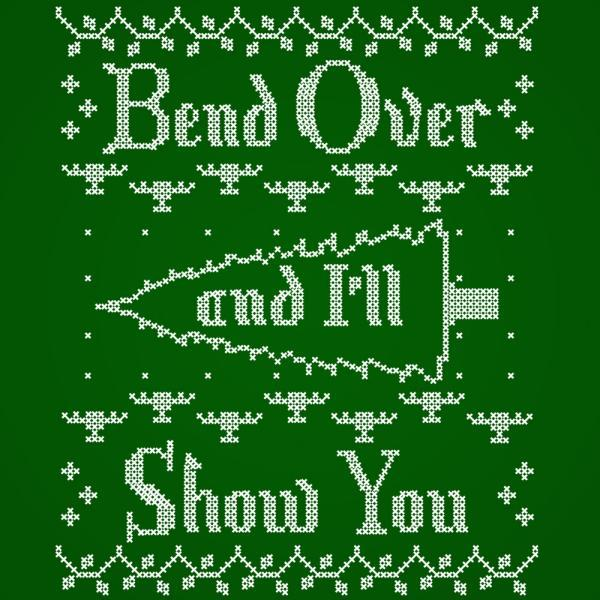 Bend Over And I'Ll Show You - DonkeyTees