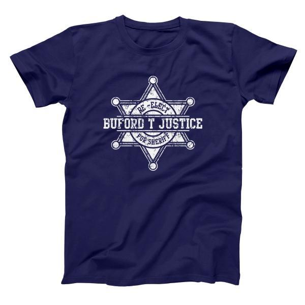 Buford T Justice Men's T-Shirt - Donkey Tees