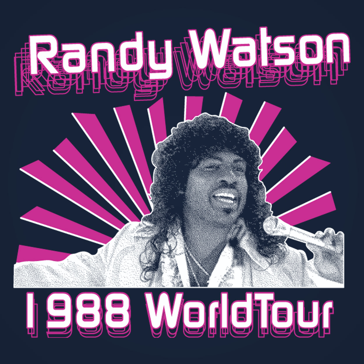 Randy Watson 1988 World Tour