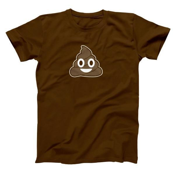 Poop Emoji Men's T-Shirt