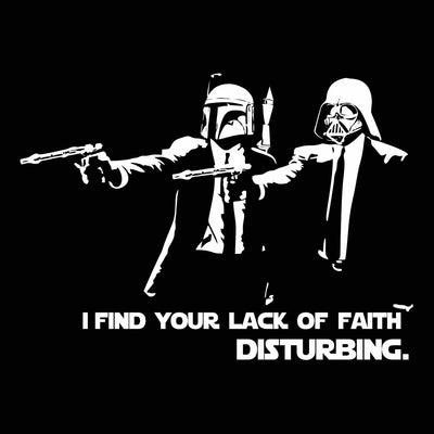 Lack Of Faith Disturbing - DonkeyTees