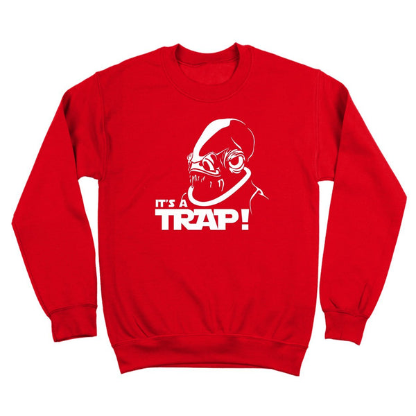 It's A Trap  Crewneck Sweatshirt