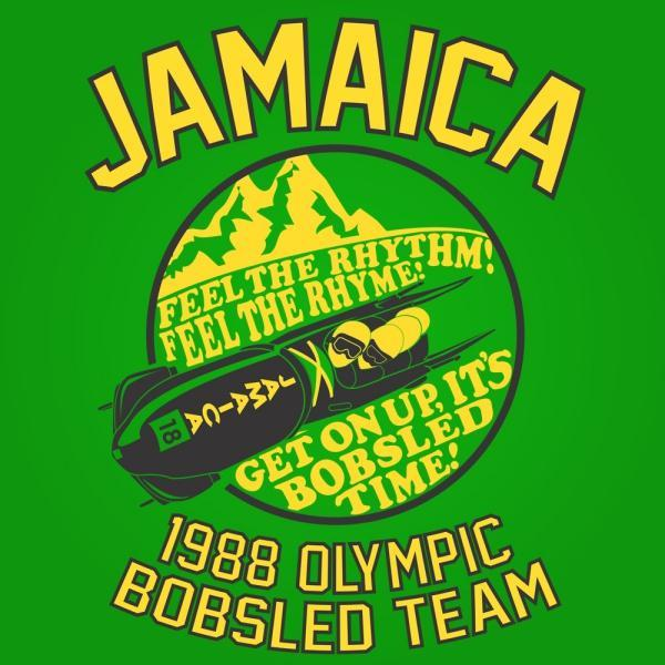 Jamaica 1988 Olympic Bobsled Team - DonkeyTees