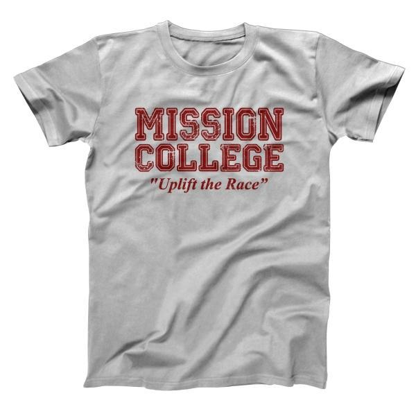 Mission College Maroon Men's T-Shirt