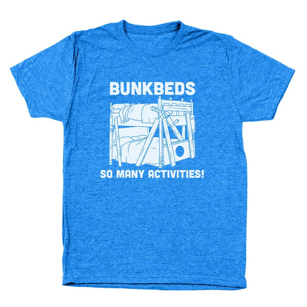 Bunkbeds So Many Activities Men's Tri-Blend T-Shirt