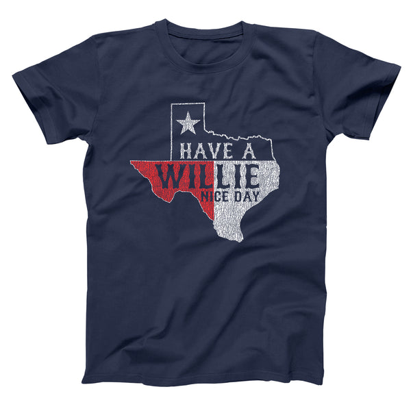 Have A Willie Nice Day Men's T-Shirt - DonkeyTees