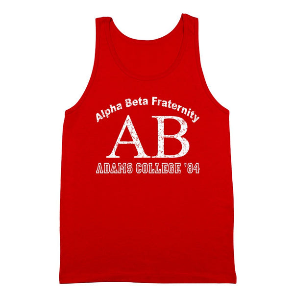 Alpha Beta Adams Atoms College Tank Top - DonkeyTees