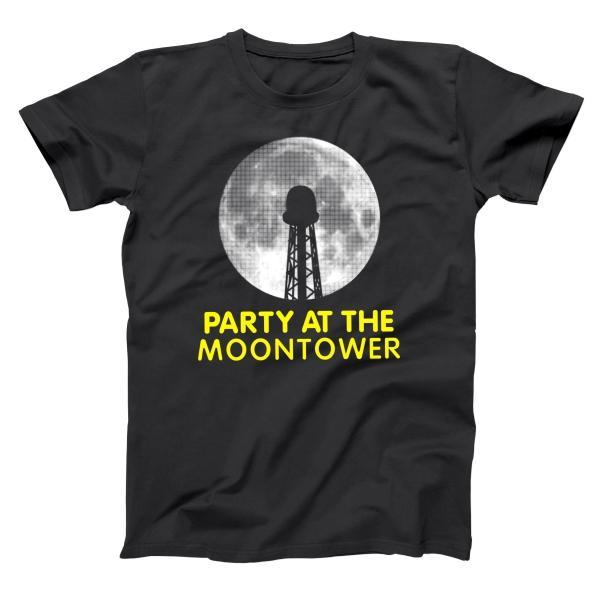 Party At The Moontower Men's T-Shirt - Donkey Tees