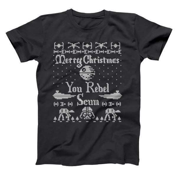 Merry Christmas You Rebel Scum Men's T-Shirt