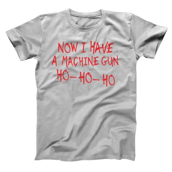 Machine Gun Ho Ho Ho Men's T-Shirt - Donkey Tees