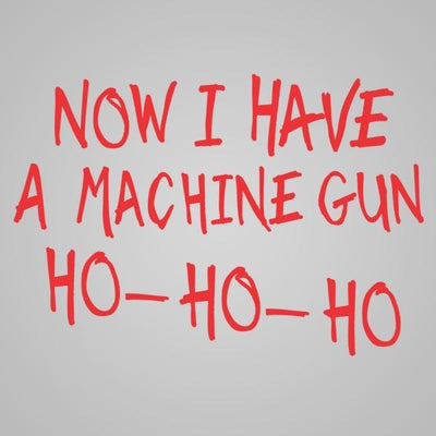 Machine Gun Ho Ho Ho - DonkeyTees