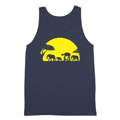 At-At Walking Africa Sunset - DonkeyTees