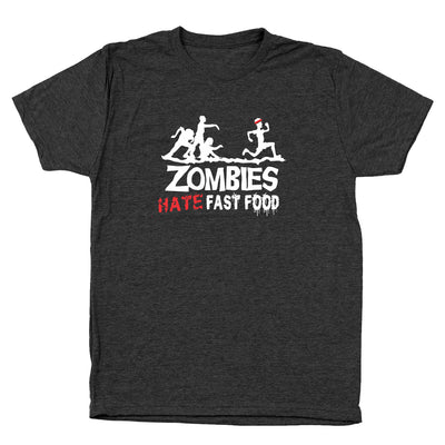 Zombies Hate Fast Food - DonkeyTees