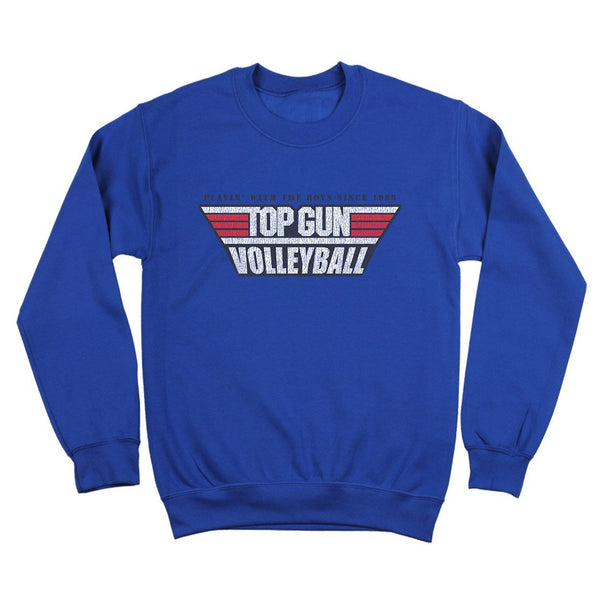 Top Gun Volleyball Crewneck Sweatshirt