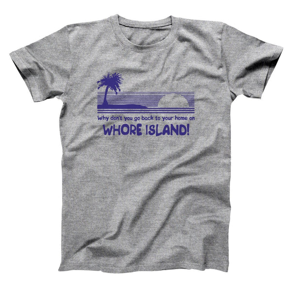 Whore Island Men's T-Shirt