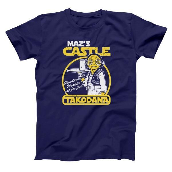 Maz Castle Takodana Men's Tall T-Shirt