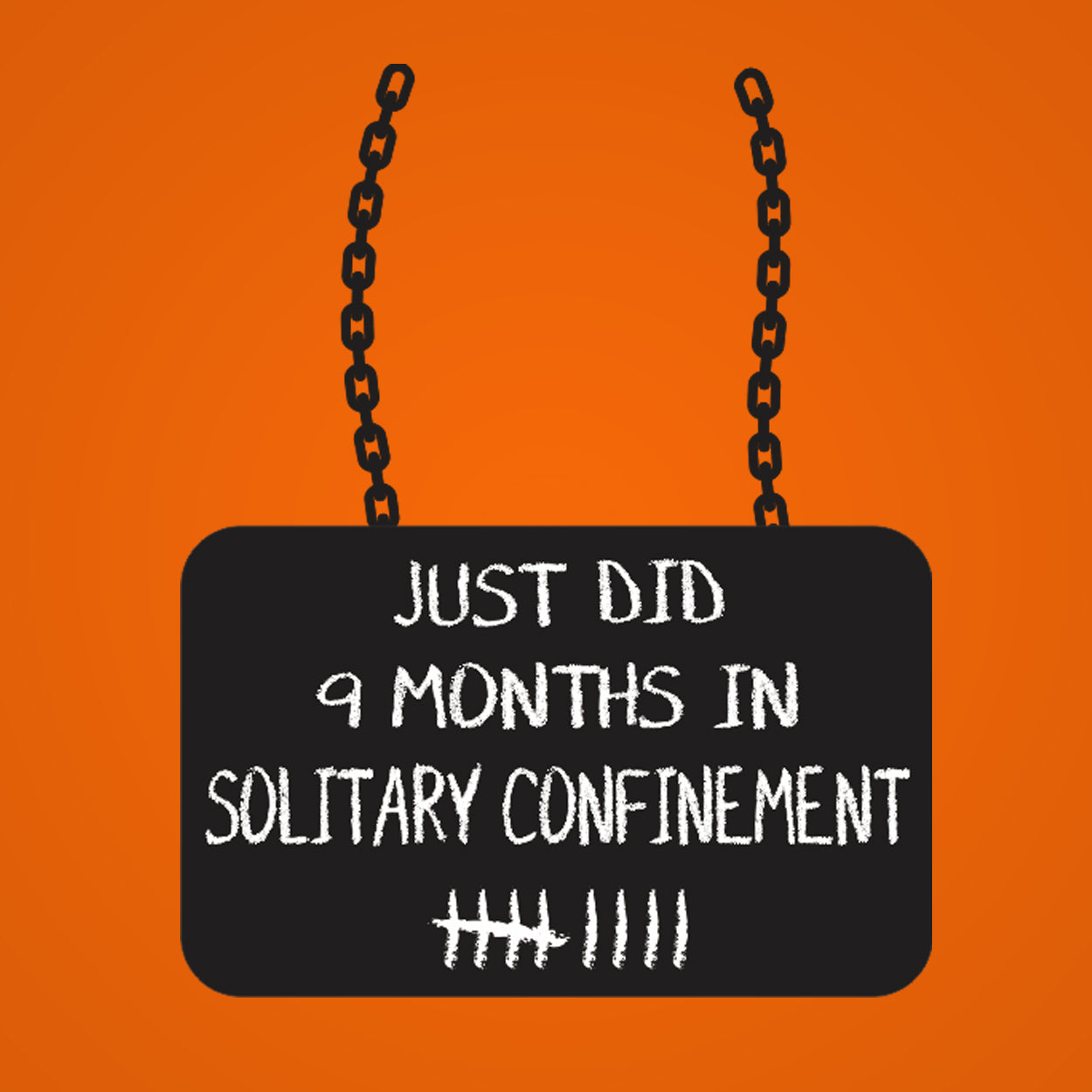 Just Did 9 Months in Solitary - DonkeyTees